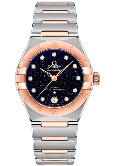 OMEGA Constellation 29mm New Models with Aventurine Dials