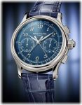 Patek Philippe Ref. 5370P-011 Split-Seconds Chronograph (with Platinum Case and Blue Grand Feu Enamel Dial)