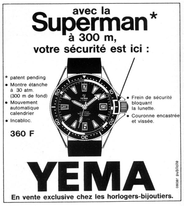 YEMA SUPERMAN 63 Limited Edition