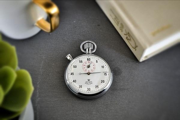 Vintage Airain Pocket Stopwatch
