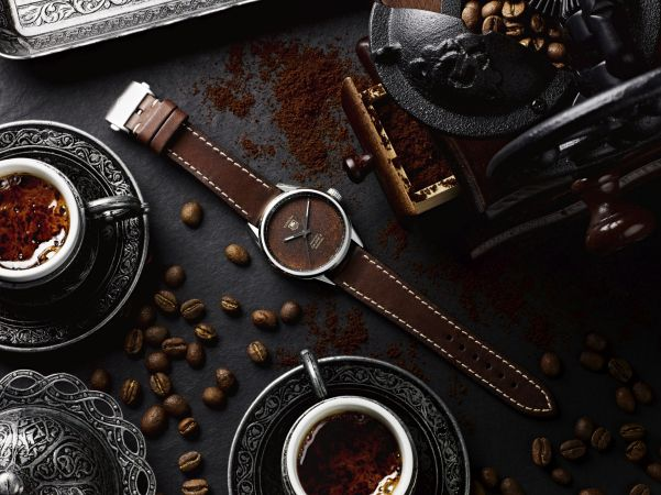 Bamford Watch Department Badgerworks TAG Heuer Carrera Calibre 5 with Tropical Coffee Dial