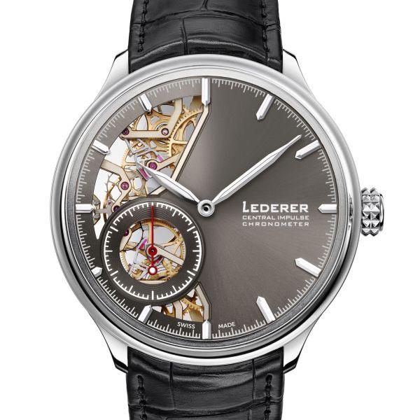 Bernhard Lederer Central Impulse Chronometer white gold