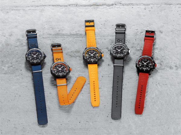 Breitling Endurance Pro collection with Outerknown ECONYL® yarn NATO straps