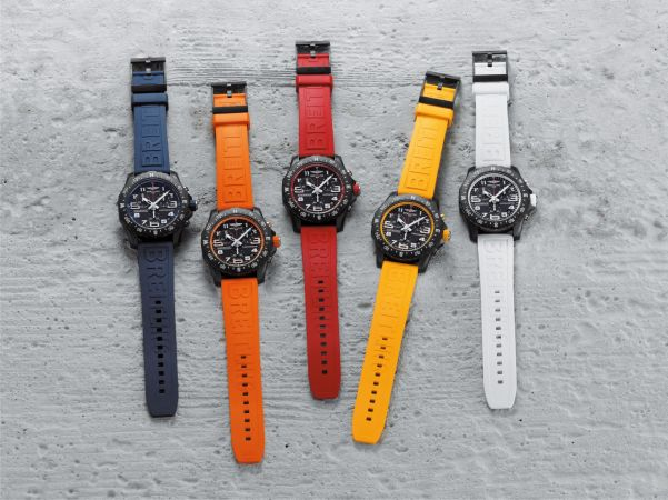 Breitling Endurance Pro collection with Rubber straps
