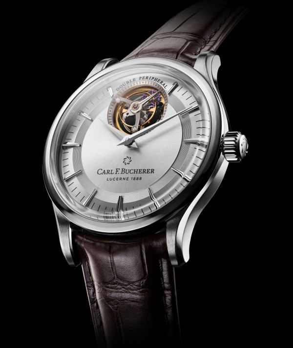 Carl F. Bucherer Heritage Tourbillon DoublePeripheral White Gold Limited Edition