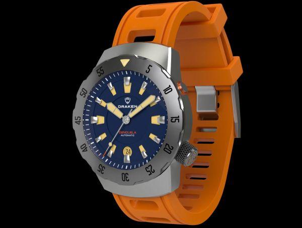 Draken Benguela automatic dive watch
