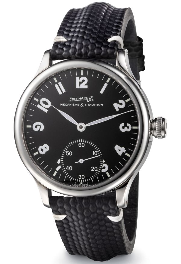 Eberhard & Co. Traversetolo Vitré New Black Dial
