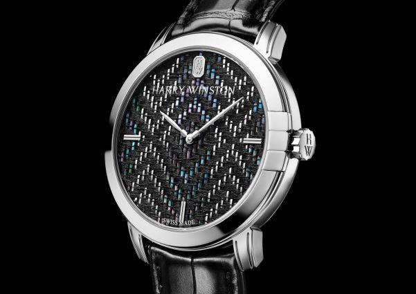 Harry Winston Midnight Precious Weaving Automatic 42mm