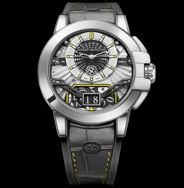 Harry Winston Ocean Big Date Only Watch 2017