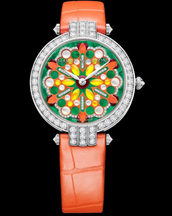 Harry Winston Premier Kaleidoscope Automatic 36mm Orange version