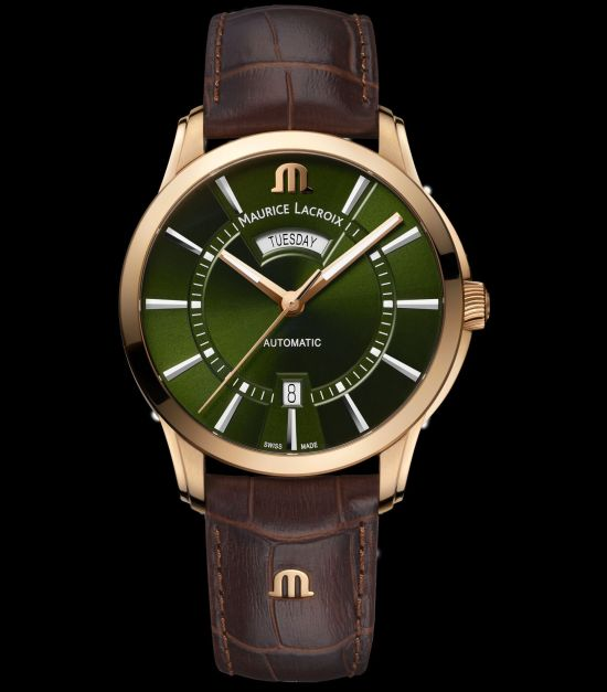 Maurice Lacroix Pontos 20th Anniversary Collection Pontos Day-Date bronze version