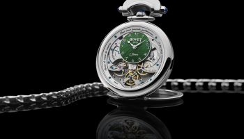 BOVET 1822 Monsieur Bovet with Green Guilloche Dial