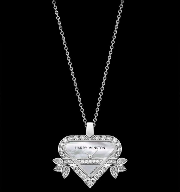 Rosebud Heart by Harry Winston (High Jewelry Timepieces)