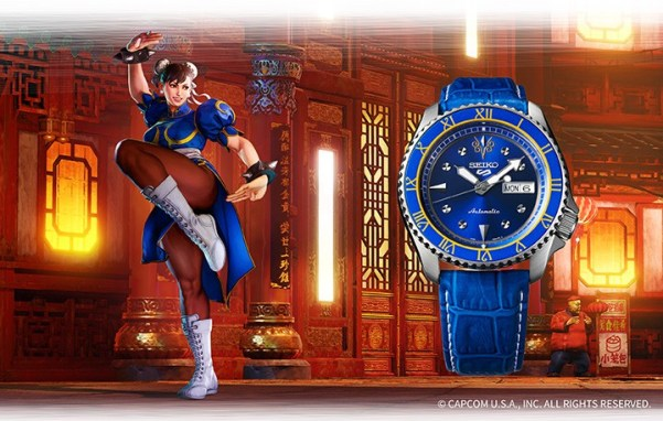 Seiko 5 Sports STREET FIGHTER V CHUN-LI (SRPF17)