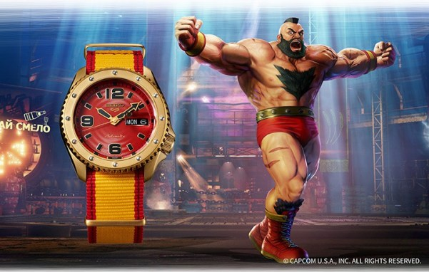 Seiko 5 Sports STREET FIGHTER V ZANGIEF (SRPF24)