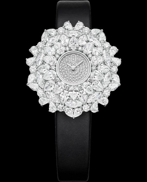 Winston Kaleidoscope High Jewelry Watch by Harry Winston HJTQHM36PP001