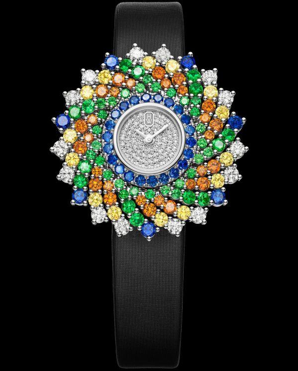 Winston Kaleidoscope High Jewelry Watch by Harry Winston HJTQHM36PP003
