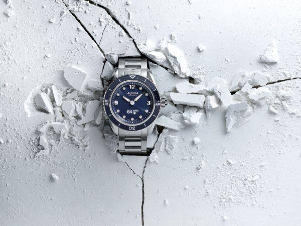 Alpina AlpinerX Comtesse Glacier smart watch for women