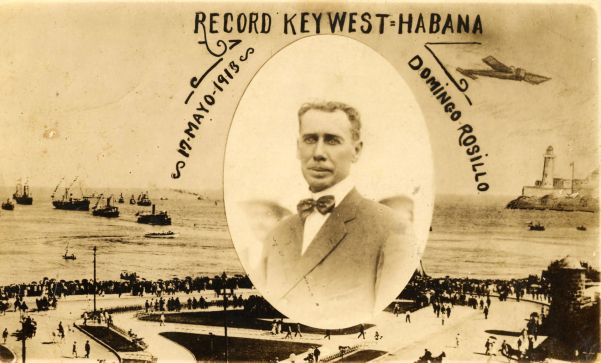 Domingo Rosillo Postcard