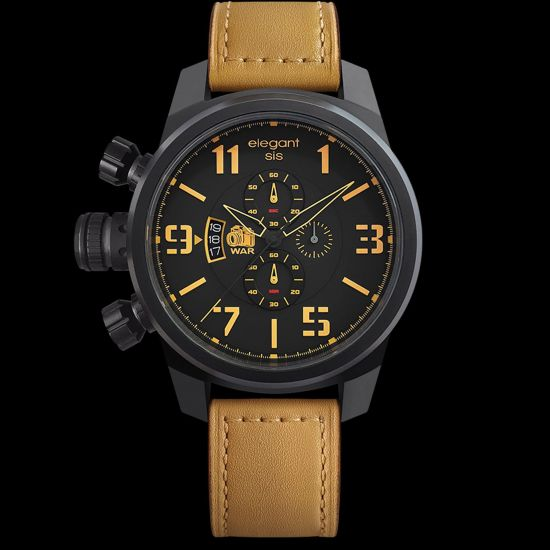 ELEGANTSIS Army Style JT48 War Correspondents Tactical Precision Wristwatch