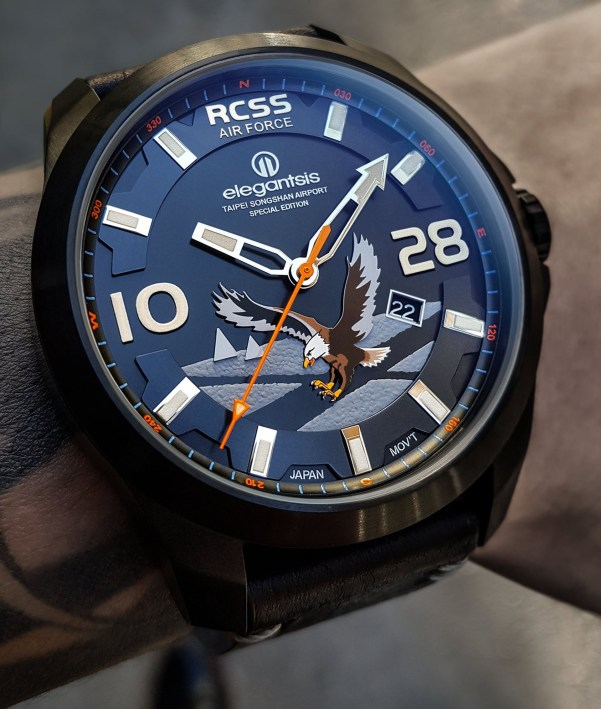 ELEGANTSIS J065AS-RCSS: RCSS Airforce Taipei Songshan Airport special edition