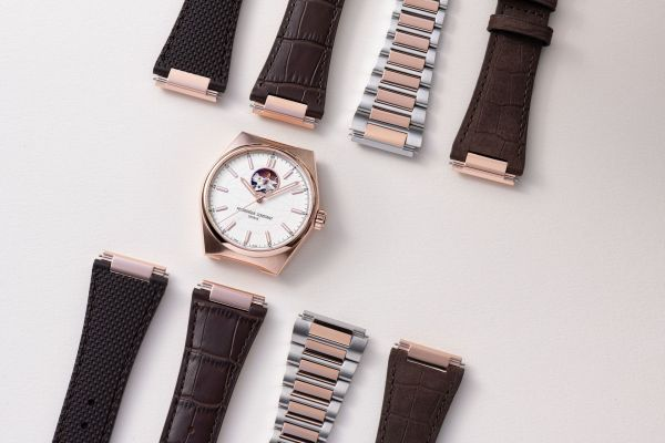 Frederique Constant Highlife Heart Beat straps