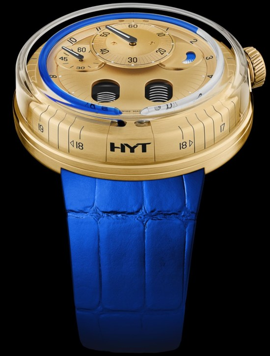 HYT H0 Gold Black Fluid (Ref.: 048-GD-94-NF-CR)