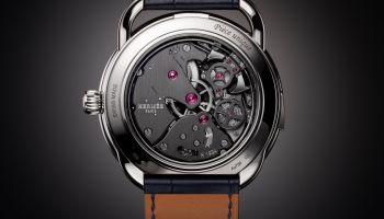 Hermès Arceau Lift Tourbillon Répétition Minutes caseback