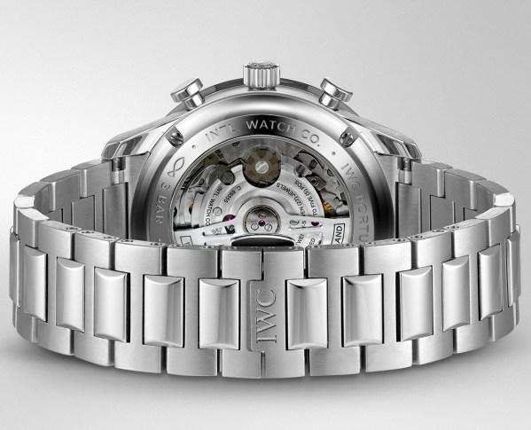 IWC Schaffhausen New Portugieser Chronograph with Stainless Steel Bracelet (Ref. IW371617)