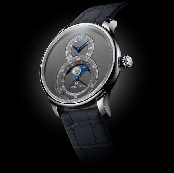 Jaquet Droz Anthracite Grande Seconde Moon watch