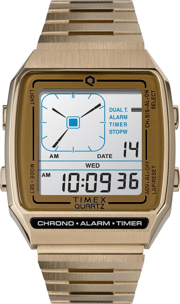 Q Timex Reissue Digital LCA watch reference TW2U72500