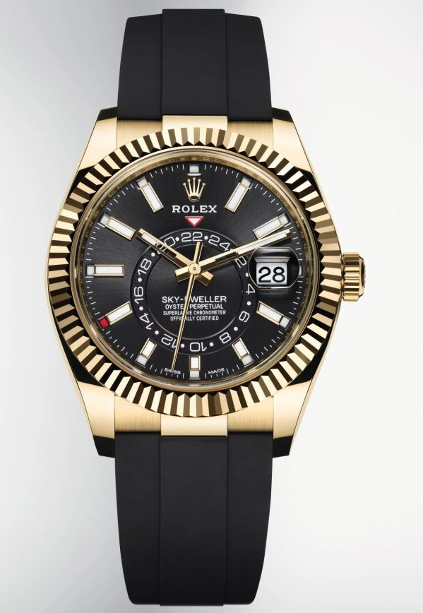 Rolex Oyster Perpetual Sky-Dweller New 18 ct Yellow Gold Version (Reference 326238)