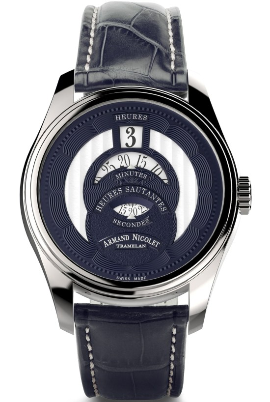 Armand HS2 automatic Jumping Hour watch