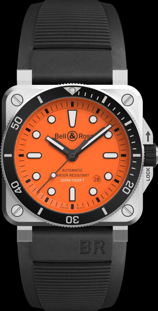 Bell & Ross BR 03-92 Diver Orange Limited Edition