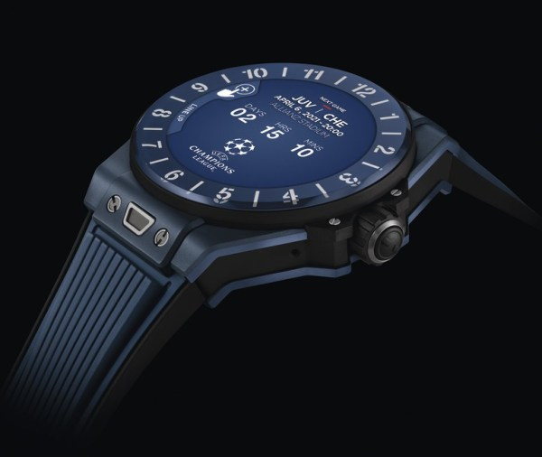 HUBLOT Big Bang e UEFA Champions League smart watch