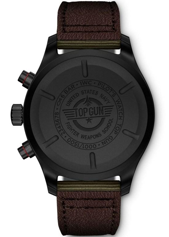 "IWC Schaffhausen Pilot's Watch Chronograph Top Gun Edition ""SFTI"" in Black Ceramic and Ceratanium"