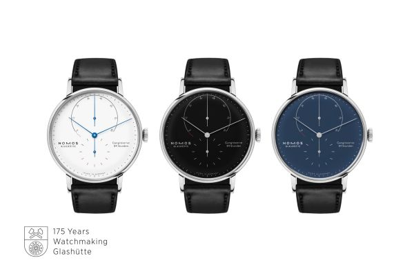 NOMOS Glashütte Lambda in Stainless Steel Limited Edition watch collection