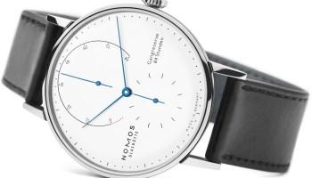 NOMOS Glashütte Lambda in Stainless Steel Limited Edition watch