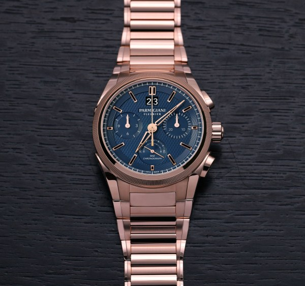 Parmigiani Fleurier New Tondagraph GT Rose Gold Blue Limited edition