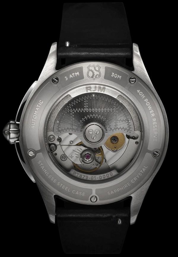REC Watches RJM Collection RJM caseback
