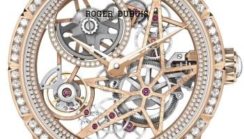 Roger Dubuis - Excalibur Automatic Skeleton Pink Gold, Diamond Set watch
