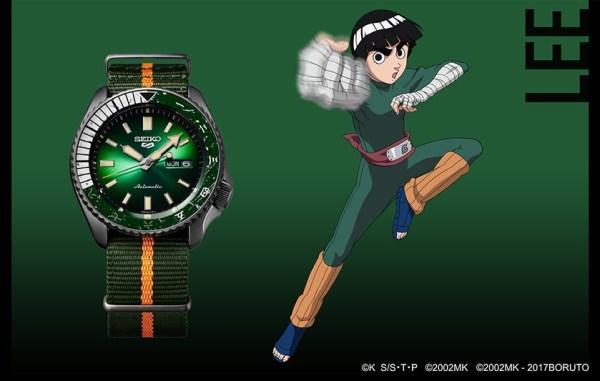 Seiko 5 Sports Rock Lee (Ref. SRPF73) limited edition watch
