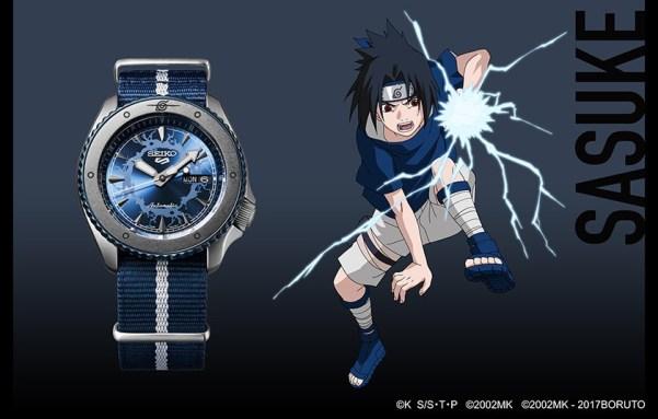 Seiko 5 Sports Sasuke Uchiha (Ref. SRPF69) limited edition watch