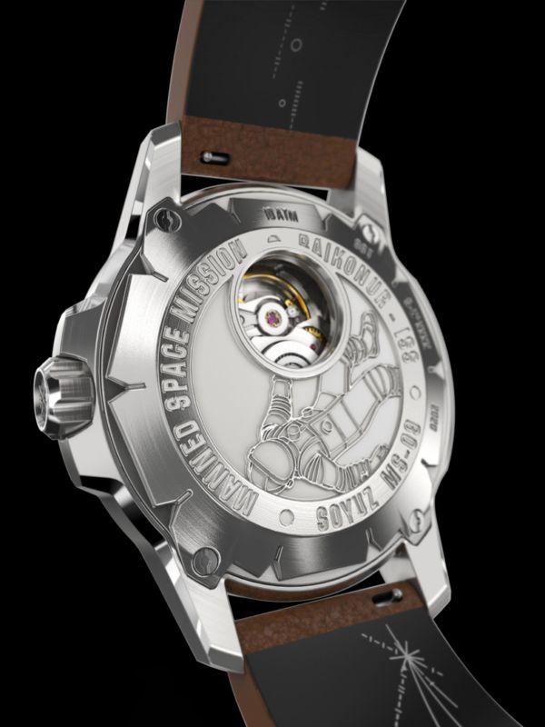 Werenbach Soyuz 01 White caseback