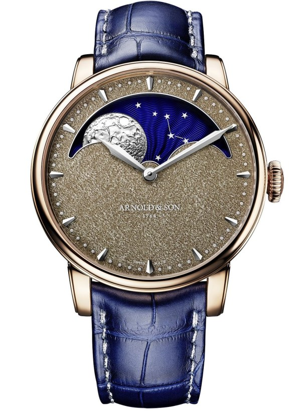 Arnold & Son Perpetual Moon Obsidian Limited Edition