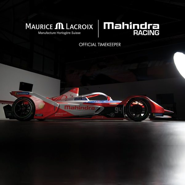 Maurice Lacroix Becomes the Official Timekeeper of Mahindra Racing