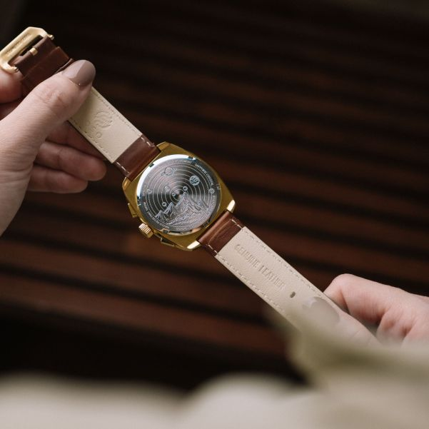 OSO Watch Co. ORBIT - Vintage Inspired Chronograph with Hybrid Movement