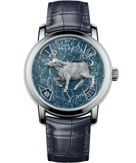 Vacheron Constantin Métiers d'Art - The legend of the Chinese zodiac, Year of the ox platinum