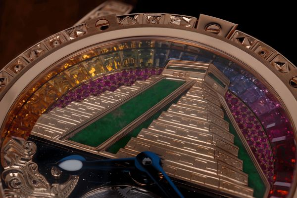 Louis Moinet Wonders of the World, ChichénItzá Pyramid One-of-a-kind Creation