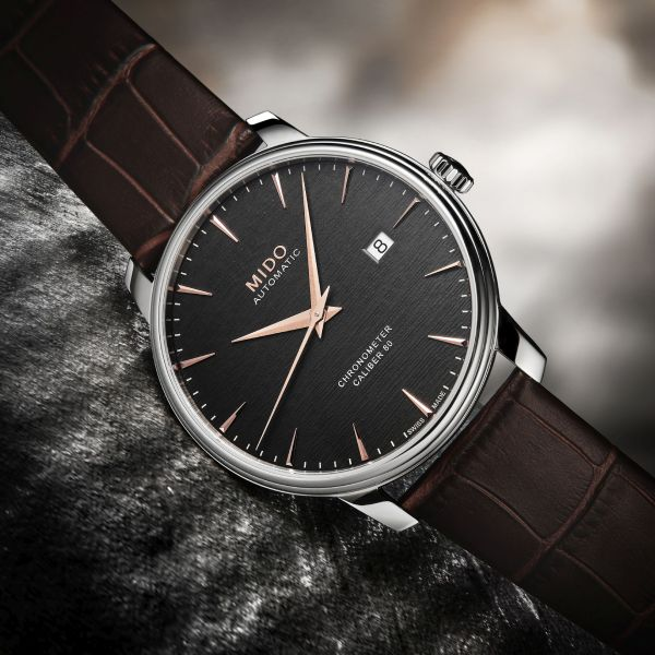 Mido Baroncelli Caliber 80 Chronometer Silicon (M027.408.16.061.00)